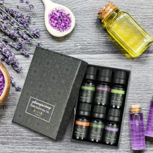 Manufacturer 10ML Humidifier Natural Aromatic Essential Oil Set