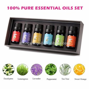 100% Natural Essential Oils Refreshing Relaxing Decompressing Oil Sets