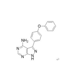 <em>3-</em>(4-phenoxyphenyl)-1 h- <em>pyrazole</em> and [3,4- d] pyrimidine-4-amine