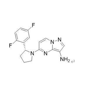 (R)<em>-5-</em>[<em>2-</em>(<em>2</em>,5-difluorophenyl)-1-pyrrolidine] pyrazole and [1,<em>5-</em> a] pyrimidine-3-amine