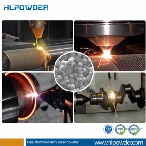 Spherical  alloy steel powder for Coating&Spraying