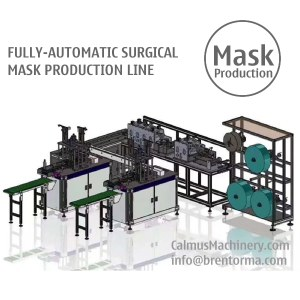 surgical mask making machine