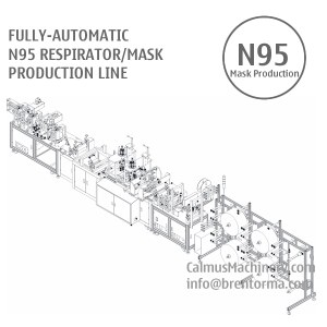 n95 mask production line