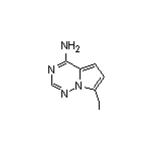 4-amino-7-iodopyrrolo[2,1-f][<em>1</em>,2,<em>4</em>]triazine 1770840-43-1