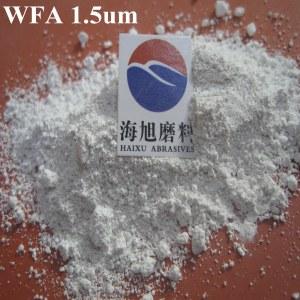 white alundum