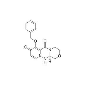 (R)-7-(benzyloxy)-3,4,12,12a-tetrahydro-1H- [1,4]oxazino[<em>3</em>,4-c]pyrido[<em>2</em>,1-f][1,<em>2</em>,4]triazine- <em>6</em>,8-dione