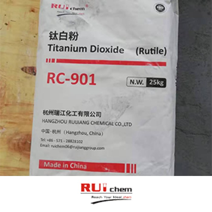 Ruichem RC 901 Rutile Titanium Dioxide