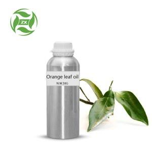 Orange leaf oil