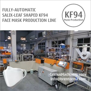 KF94 mask production line