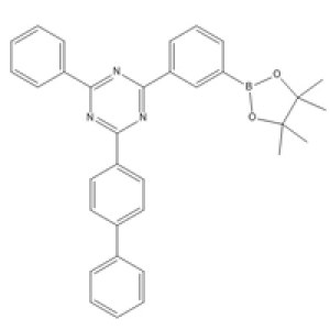 1696425-30-5 <em>2-</em>([<em>1</em>,<em>1</em>'-biphenyl]-4-yl)-4-phenyl-6-(3-(4,4,5,5-tetramethyl-1,3,2-dioxaborolan-2-yl)phenyl)<em>-1</em>,3,5-triazine