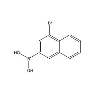 4-Bromo-1-naphthalene boronic acid