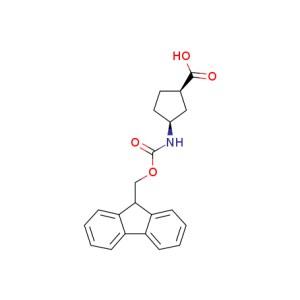 (<em>-</em>)<em>-</em>(<em>1R</em>,<em>3S</em>)-N-Fmoc-3-Aminocyclopentanecarboxylic <em>acid</em>