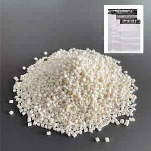 100% biodegradable modified resin PLA+PBAT for shopping bags
