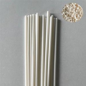 Fully biodegradable modified <em>resin</em> for heat resistant straw