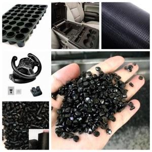 high gloss carrier free black sand