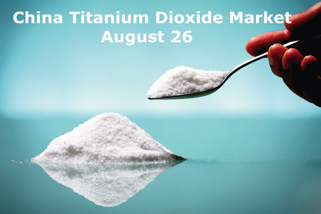 China tio2 market Aug.26