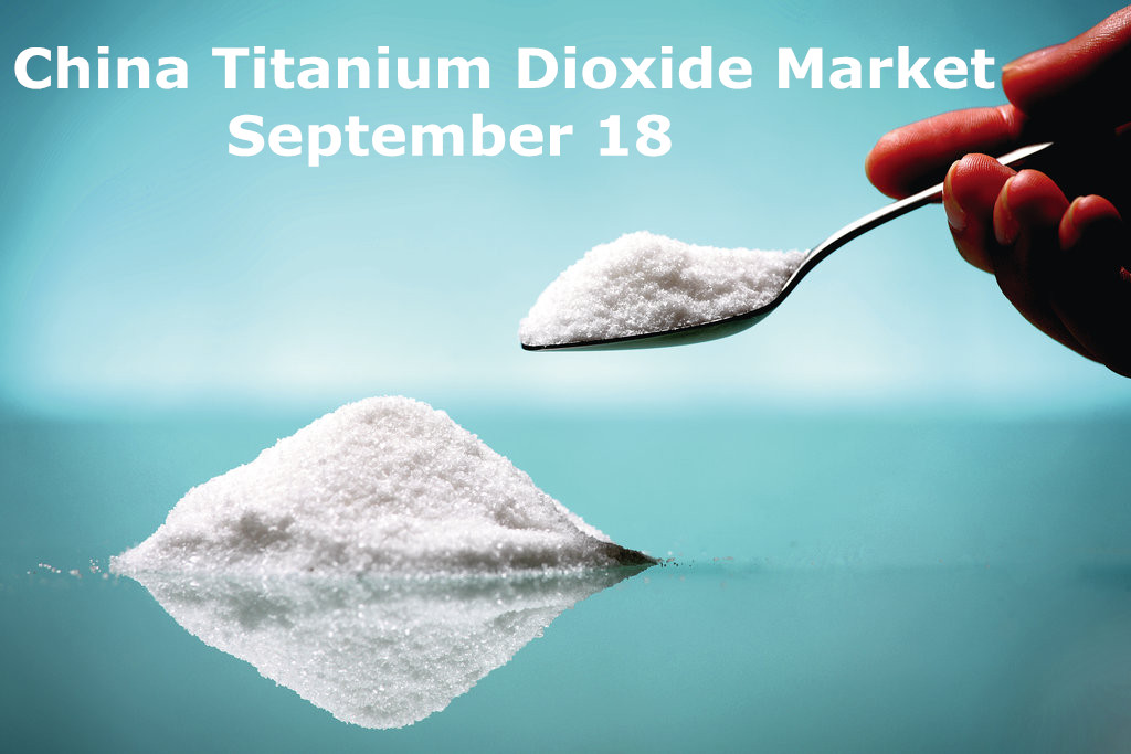 china tio2 market sep.18