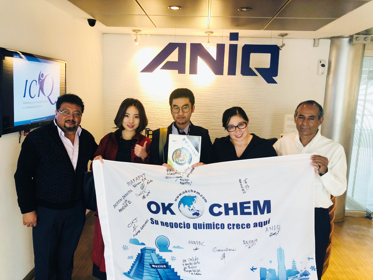 OKCHEM reaches a cooperation with the beggest Mexican chemical association